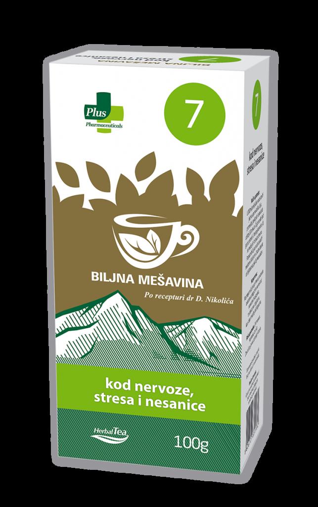 Čaj kod nervoze, stresa i nesanice